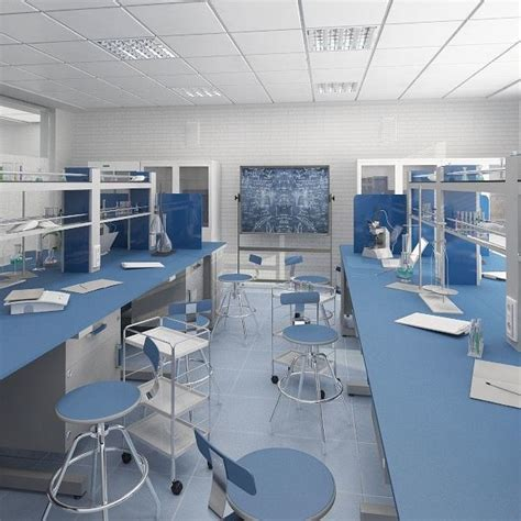 design lab free 3d interior scientific laboratory