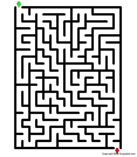 printable easy maze puzzles 5 best images of easy printable maze puzzles free easy
