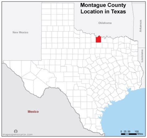 map of montague county texas free and open source location map of montague county texas mapsopensource