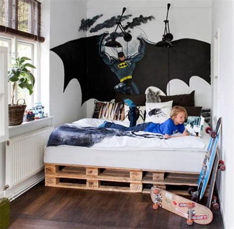 Diy Boys Bedroom Ideas Batman Bedding And Bedroom D 233 Cor Ideas For Your Superheroes