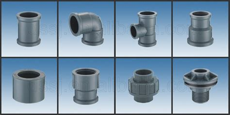 Plumbing Fittings Pvc by Types Of Plumbing Materials Plastic Pvc Pipe Fittings