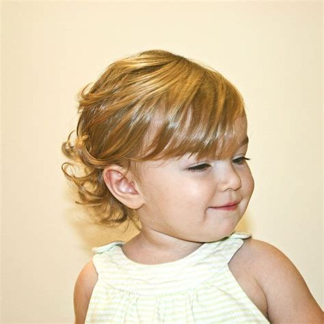 hairstyles for infant girl toddler bob haircut on pinterest little girl bob little