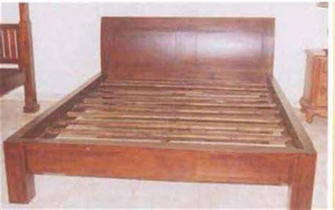 Ranjang Kasur Kayu h mat alim kasur ranjang jati minimalis