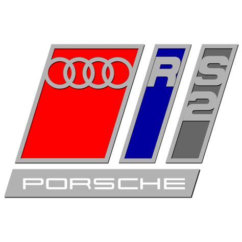 Sticker et autocollant Porsche Audi RS2 Audi Rs2 Porsche