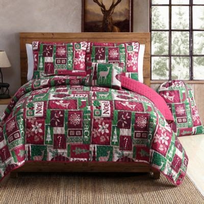 buy holiday christmas bedding from bed bath beyond