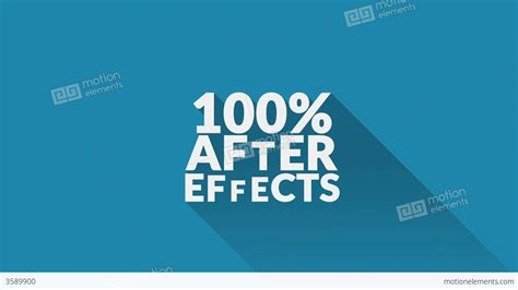 3d text after effects template shadows design text titles