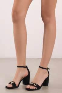 Brenda Open Toe Back Heels report footwear palomina black open toe heels 163 49 tobi gb