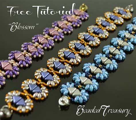 Tutorial Beading free beading tutorial blossom beadedtreasury