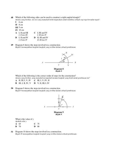 Segi Enam 5 Cm X 12 Cm 100 Pcs Alas Emas 100 soalan matematik ting2