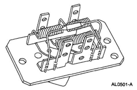zx2 blower motor resistor alldatadiy 2001 ford zx2 l4 2 0l dohc vin 3 components