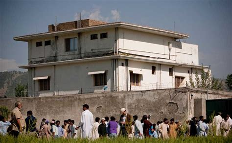 osama bin laden house images bin laden s pak house demolished still attracts