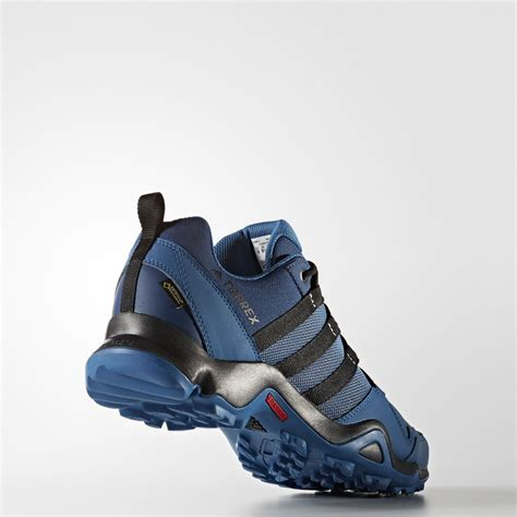 adidas terrex adidas terrex ax2r mens blue gore tex waterproof walking