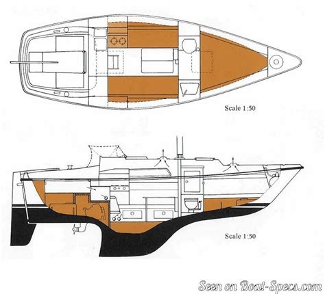 sailboat layout hallberg rassy 26 sailboat specifications and details on