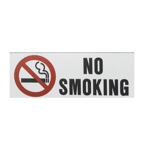no smoking sign plastic no smoking sign ada braille 3x6 plastic white with red
