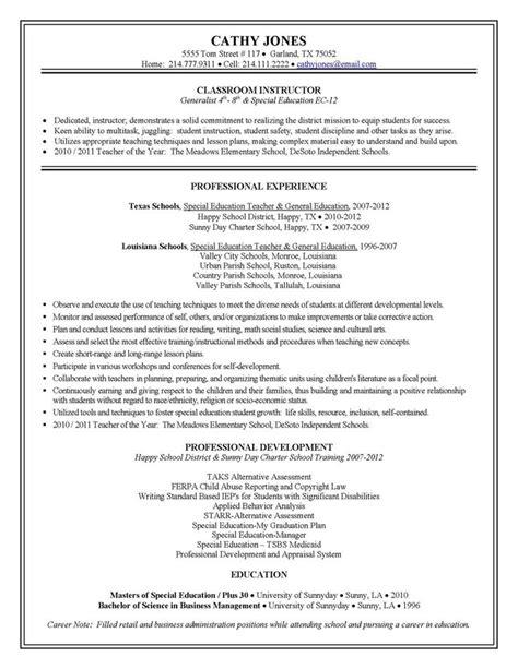 elementary school teacher resume example sample resume resume