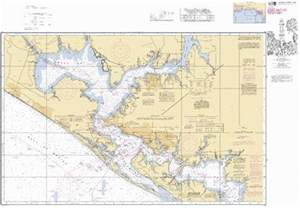 east bay to west bay florida side a marine chart