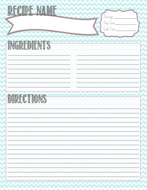 Can I Find A Customizable Recipe Card Template by Best 25 Recipe Templates Ideas On Clean Book