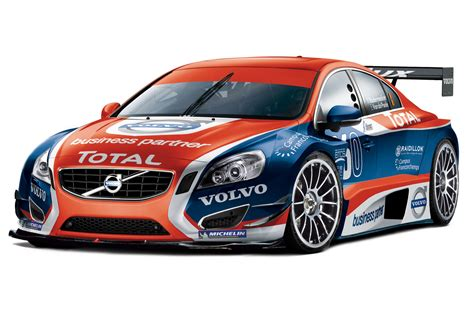 volvo race car volvo introduces race version of all new s60 sedan with