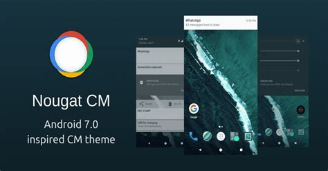 download android themes engine download android 7 0 nougat theme for cm 12 1 and cm 13