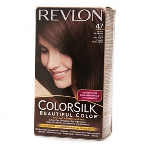 pictures of color silk decadent chocolate hair color revlon colorsilk hair color dye medium rich brown 47