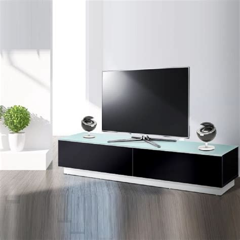 meubles tv meuble tv bas design 170 cm pretty noir exclusive mobuler