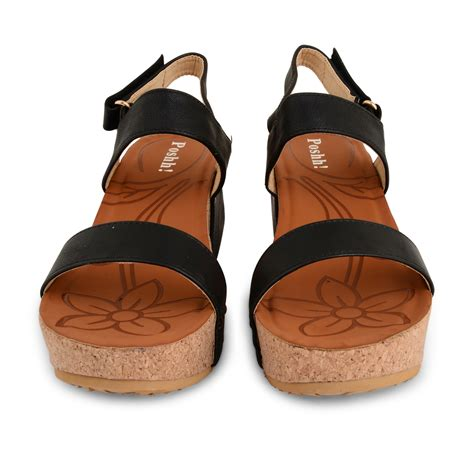 womens platform wedge sandals ankle open toe