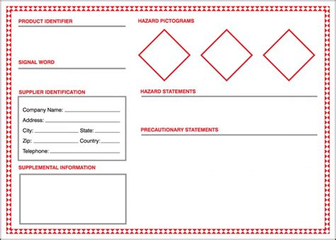 ghs template safety signs safety tags and safety labels by accuform signs