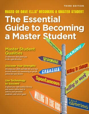 the essential guide to becoming a master student books the essential guide to becoming a master student textbook