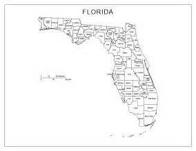 florida state map by county florida labeled map