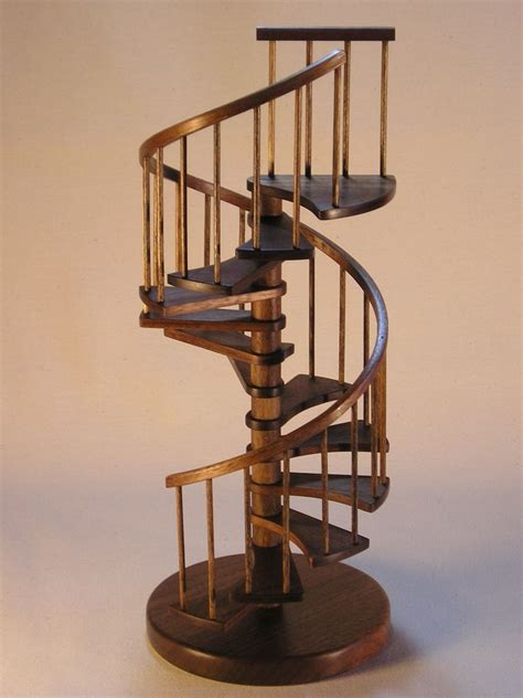 Modern Cat Tree Ikea by Custom 1 12th Scale Miniature Walnut Spiral Staircase By