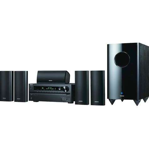 onkyo ht s7400 home theater system ht s7400 b h photo