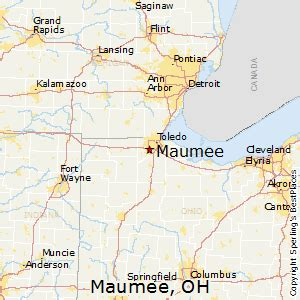 Maumee Ohio Map by Best Places To Live In Maumee Ohio