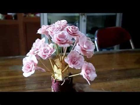 membuat bunga  sabun mandi harum  cantik youtube