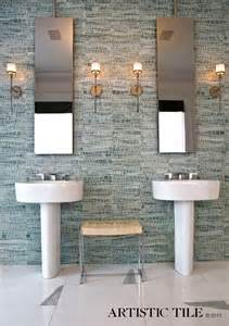 pebble tile shower floor bathroom contemporary with built