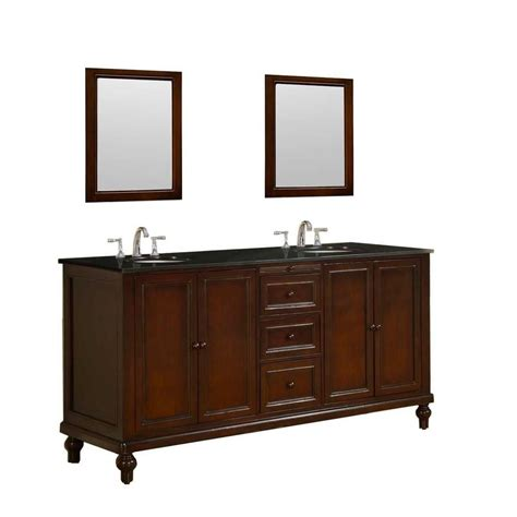 Direct Vanity Sink Classic 70 In Vanity In Dark Brown 70 Bathroom Vanity
