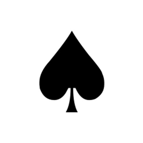spade emoji black spade suit smiley face unicode character u 2660
