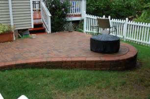 Raised Patio Design Ravishing Brick Patio Designs Landscaping And Outdoor Building Inspiration 10822 Strandedwind