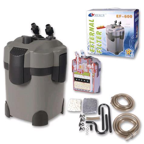 Resun Ef 600 Aquarium External Canister Filter external filters gt filtering tommiland