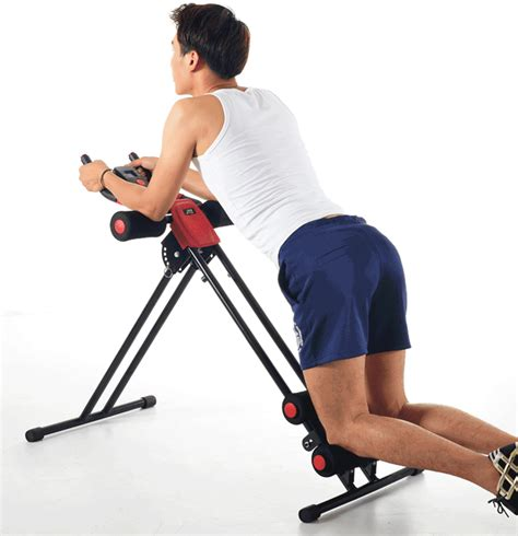 finether ab cruncher abdominal trainer glider machine fitness exercise equipment ebay
