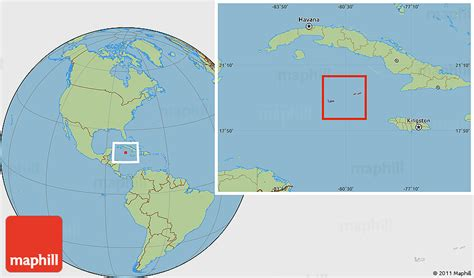 world map cayman islands savanna style location map of cayman islands