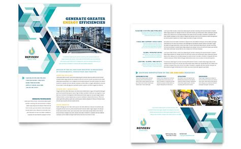 Oil Gas Company Datasheet Template Design And Gas Company Website Template