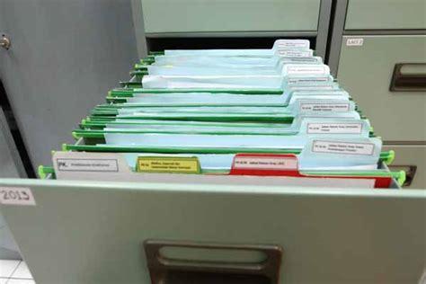 File Holder Map Tempat Penyimpanan Dokumen cara menyimpan arsip dinamis dengan sistem berkas