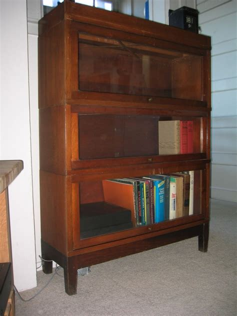 globe wernicke lawyer s bookcase collectors weekly