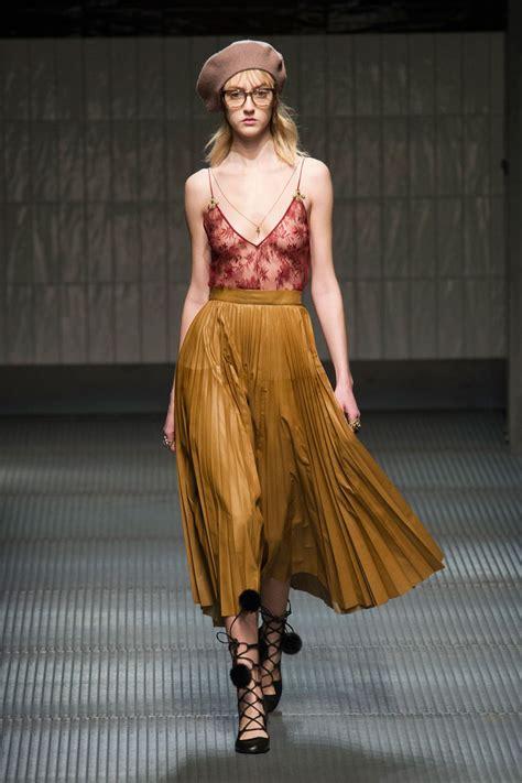 Sendal Fashion 1601 Aw gucci aw15 fashion show by alessandro michele