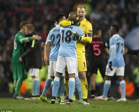 Hoodiesweaterbaju Hangat Manchester City city cipta sejarah layak ke separuh akhir ucl bola sepak mstar