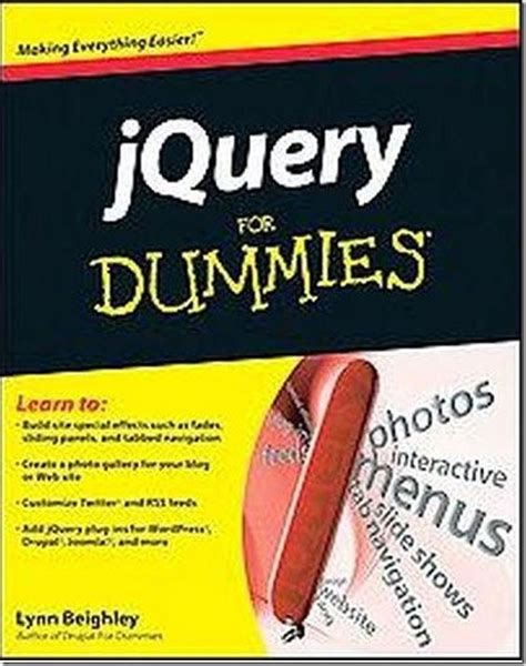 reference book for jquery 10 useful jquery ebooks