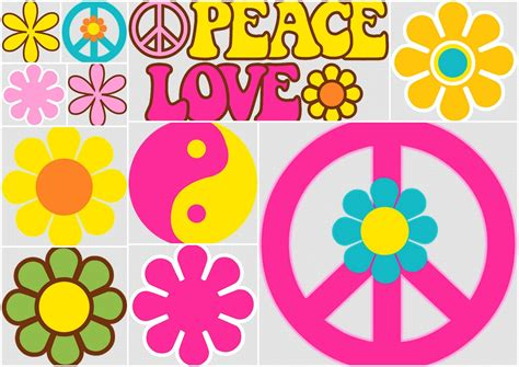 hippie clipart flores y s 237 mbolos clipart para hippy oh my