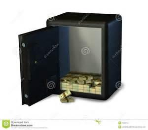 imagenes cajas fuertes abra la caja fuerte con el dinero imagenes de archivo