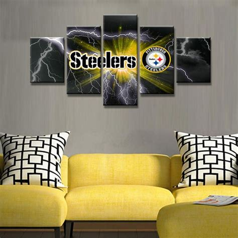 pittsburgh steelers home decor the 25 best football canvas ideas on pinterest