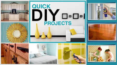 diy projects for home improvements home decor ideas
